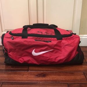 Large Nike duffel bag